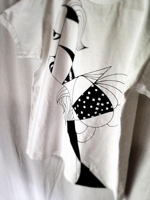 ペイントTシャツ2